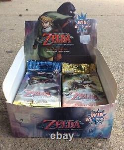 2007 The Legend of Zelda Twilight Princess 11 SEALED Packs with Display Box
