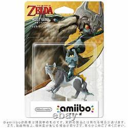 3DS Wii U Amiibo Wolf Link The Legend of Zelda Twilight Princess