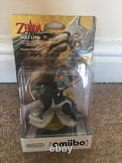 Amiibo Legend of Zelda Wolf Link Twilight Princess Limited Edition Box +Audio CD