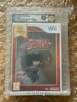 BRAND NEW SEALED LEGEND OF ZELDA TWILIGHT PRINCESS FOR Wii VGA GOLD GRADED 85+