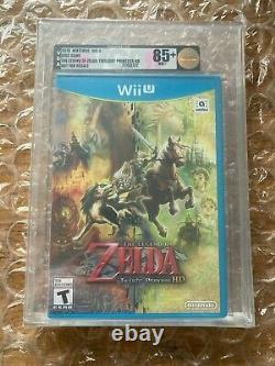 BRAND NEW SEALED LEGEND OF ZELDA TWILIGHT PRINCESS HD NINTENDO Wii U VGA 85+