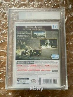 BRAND NEW SEALED LEGEND OF ZELDA TWILIGHT PRINCESS VGA GRADED 85 NINTENDO Wii