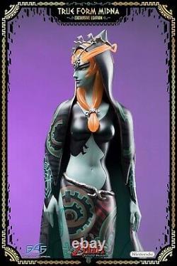 FIRST 4 FIGURES Legend of Zelda Twilight Princess True Form Midna Exclusive MINT