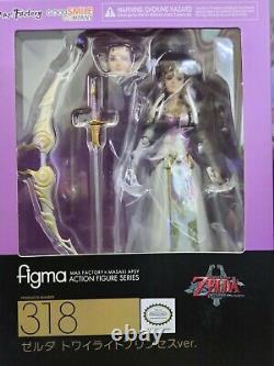 Figma 318 Max Factory The Legend of Zelda Twilight Princess Princess Zelda