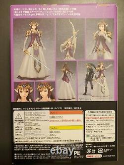 Figma 318 Zelda Twilight Princess Legend of Zelda New Authentic, Preowned