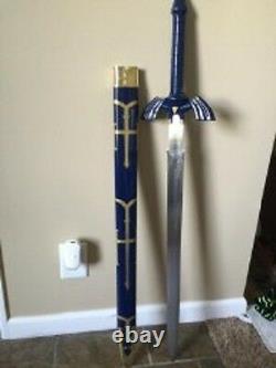 Full Steel Legend Of Zelda Twilight Princess Replica master Sword 42 Sharp