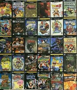 GAMECUBE Authentic Games I P (Nintendo Gamecube) CLEANED AND TESTED
