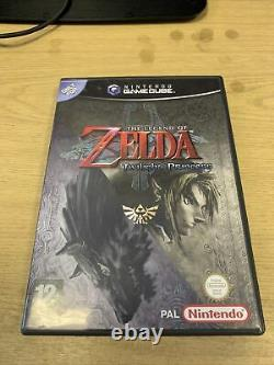 Gamecube The Legend of Zelda Twilight Princess UK PAL VGC