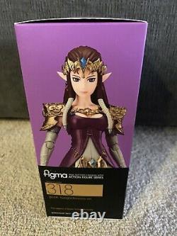 Good Smile The Legend of Zelda Twilight Princess Zelda Figma Action Figure 318