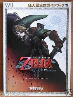 JAPAN Legend of Zelda Twilight Princess Guide Book