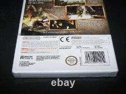 LEGEND OF ZELDA TWILIGHT PRINCESS Nintendo WII UK PAL NEW & FACTORY SEALED