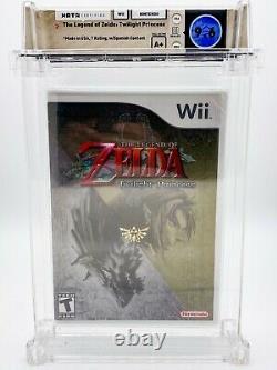 LEGEND OF ZELDA TWILIGHT PRINCESS WATA-Certified 9.6 A+ SEALED! Nintendo Wii