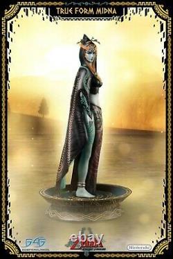LEGEND OF ZELDA Twilight Princess True Form Midna Statue F4F first 4 Figures