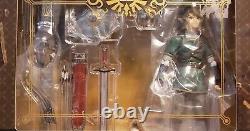 Legend Of Zelda Twilight Princess Figure Figma 320 Link Deluxe Version AUTHENTIC