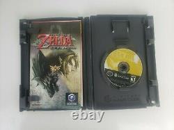 Legend Of Zelda Twilight Princess Nintendo GameCube TESTED