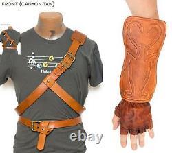 Legend of Zelda Cosplay Link Belts, Bracer & Gloves Twilight Princess Dark Link