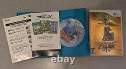 Legend of Zelda Skyward Sword Controller bundle +Twilight Princess+Wind Waker HD