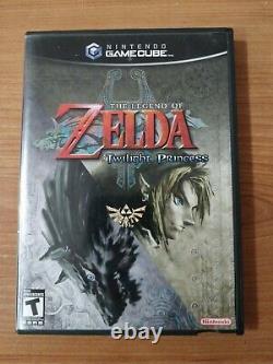Legend of Zelda Twilight Princess (GameCube, 2006) CIB Great Condition
