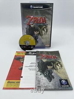 Legend of Zelda Twilight Princess (GameCube, 2006) Complete CIB