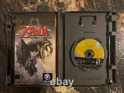 Legend of Zelda Twilight Princess (GameCube, 2006) Complete CIB Working