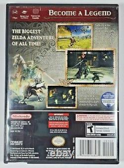 Legend of Zelda Twilight Princess (GameCube, 2006) Complete with Manual CIB
