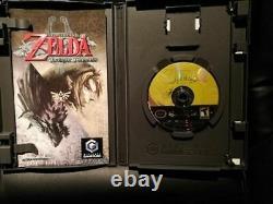Legend of Zelda Twilight Princess (GameCube, 2006) Fast Shipping! CIB