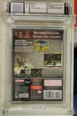 Legend of Zelda Twilight Princess (GameCube, 2006) NEW WATA GRADED 9.6