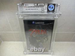 Legend of Zelda Twilight Princess (GameCube, 2006) New Sealed Graded WATA 9.6A+