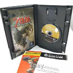 Legend of Zelda Twilight Princess (GameCube, 2006) TESTED! Complete! / CIB