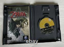Legend of Zelda Twilight Princess (GameCube, 2006) Tested Includes Booklet