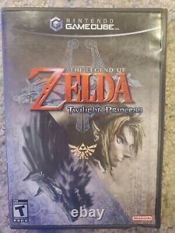Legend of Zelda Twilight Princess (GameCube, 2006) complete and tested