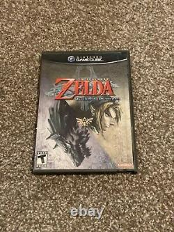 Legend of Zelda Twilight Princess GameCube - NO MANUAL TESTED WORKING