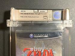 Legend of Zelda Twilight Princess Gamecube (2006) SEALED WATA 9.4 A+ Deep Badge