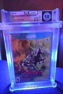 Legend of Zelda Twilight Princess HD (Wii U, 2016) PERFECT GRADE WATA 10 VGA