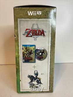 Legend of Zelda Twilight Princess HD (Wii U, 2016) + Wolf Link Amiibo NEW SEALED