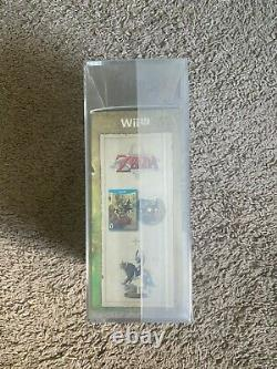 Legend of Zelda Twilight Princess HD Wii U With Wolf Link Amiibo Sealed GRADED