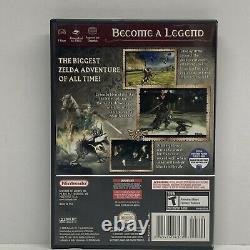 Legend of Zelda Twilight Princess Nintendo GameCube GAME CASE AND MANUAL TESTED