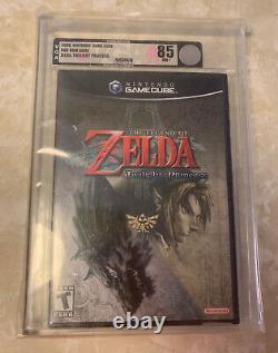 Legend of Zelda Twilight Princess Nintendo Gamecube Sealed VGA 85