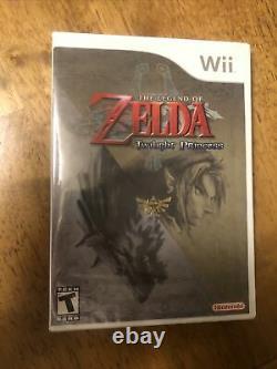 Legend of Zelda Twilight Princess Nintendo Wii Brand New 1st Print Sealed