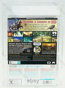 Legend of Zelda Twilight Princess Nintendo Wii-U NEU SEALED VGA 80
