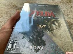 Legend of Zelda Twilight Princess Sealed USA Version Game Cube