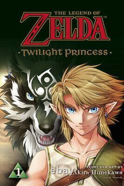 Legend of Zelda Twilight Princess Volume 1-8 Softcover Graphic Novel Set