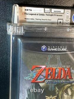 Legend of Zelda Twilight Princess Wata 9.6 A Sealed Nintendo Gamecube Y Seam