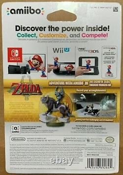 Legend of Zelda WOLF LINK AMIIBO Twilight Princess HD NINTENDO WII U SWITCH NEW