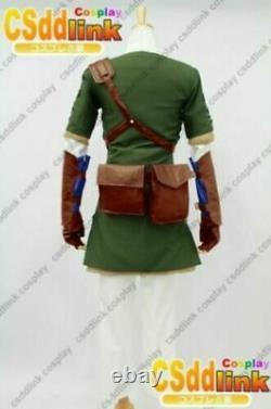 Legend of zelda twilight princess link cosplay costume outfit