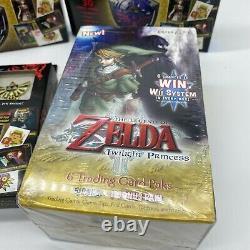Lot Bundle NEW FACTORY SEALED Legend of Zelda Cards Twilight Princess Packs Box