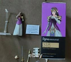 (Missing Tiara) Figma 318 Zelda Twilight Princess Ver Legend of Authentic