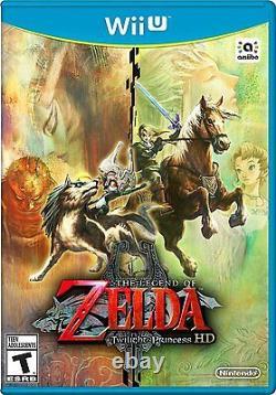 NEW Legend of Zelda Twilight Princess HD (Nintendo Wii U, 2016) GAME ONLY