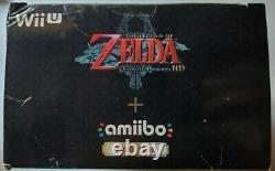 NEW Nintendo The Legend of Zelda Twilight Princess HD Wii U + Wolf Link Amiibo
