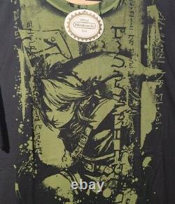 NWT Legend Of Zelda Twilight Princess Nintendo Video Game Promo T-shirt VTG Sz L